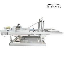Techtongda Manual Cylinder Screen Printing Press Bottle Curve Surface Printer