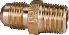 """30 - PROPLUS R48EE BRASS FLARE LONG THREAD CONNECTORS, 3/8"""" FLARE X MIP  SDC 048"""