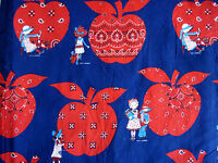 Vintage Cotton Quilt Fabric Holly Hobbie  BTY