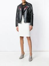 Dsquared2 White High Waist Cotton Skirt - XS>RRP £499.99
