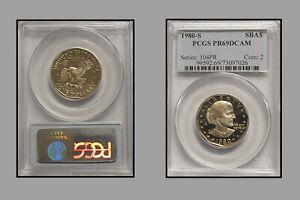 1980-S PCGS PR69DCAM Silver Dollar