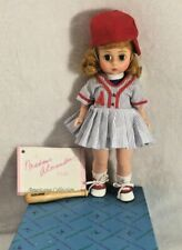 "Vintage Madame Alexander All Star Doll 8"" Baseball Player 100346"