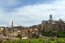 Siena Skyline Cityscape Medieval City Southern Tuscany Italy Photograph Picture