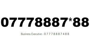 GOLD DIAMOND PLATINUM BUSINESS EASY REMEMBER VIP MOBILE NUMBER SIM CARD 777888