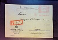 Germany 1933 Metered Cover / Registered  - Z1200