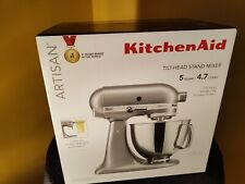 KitchenAid KSM150PSMC 5 Quart Stand Mixer Chrome Metallic