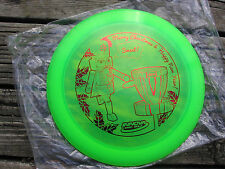 New 2014 Merry Christmas Disc Golf 158g Blizzard Champion TeeDevil Red stamp