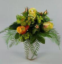 deko blumen k nstliche pflanzen mit rosen blumenstr u e. Black Bedroom Furniture Sets. Home Design Ideas