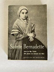 Sainte Bernadette - Desclée De Brouwer