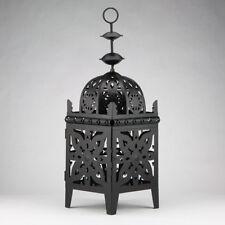 "32"" Black Moroccan Candle Lantern Tea Light Holder"