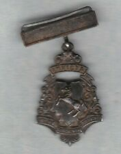 GOOD CONDUCT HALLMARKED SILVER MEDAL IN EXTREMELY FINE CONDITION
