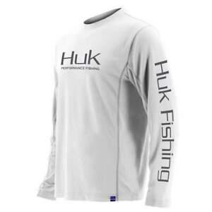 HUK Icon X Long Sleeve Fishing Performance Shirt--Pick Color/Size-Free Ship