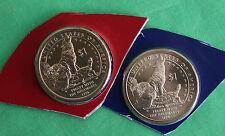 2013 P & D Sacagawea Dollar BU 2 Coins US Mint Turtle Fox Turkey Native American