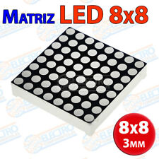 Matriz LED 8x8 3mm Rojo matrix 16 pins 64 led display