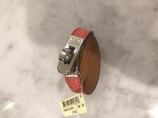 Hermes Kelly Double Tour Lizard Bracelet