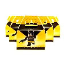 6pcs/lot Candy Box Cake Box for Kids Batman Theme Party Baby Shower Party Decora