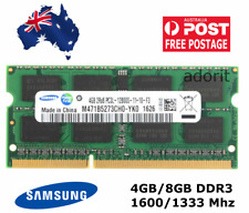 Samsung 4GB 8GB DDR3 Laptop RAM PC3 Notebook Memory SoDimm 1600 1333 1.35V 1.5V