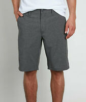 Volcom Men's Surf & Turf 4 Way Stretch Charcoal Grey Board Shorts (Retail $60)