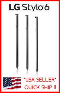 LG STYLO 6 Q730TM Q730MS Q730 Stylus Pen / SIM Cell Phone Part / Blue Silver OEM