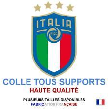 Stickers autocollant ITALIE FOOT ITALIA FIGC logo plusieurs tailles, super prix