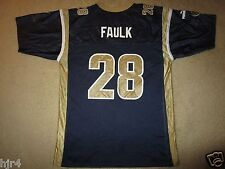 Marshall Faulk St. Louis Rams Hall of fame NFL Jersey Youth XL 18-20