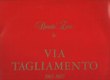 RENATO ZERO doppio disco 2 LP 33 giri VIA TAGLIAMENTO gatefold + inner  ITALY