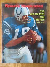 JOHNNY UNITAS Sports Illustrated 7-10-1972 Magazine No Label BALTIMORE COLTS