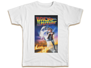Back To The Future Mens T-Shirt - Cool Top Movie Retro Cult Classic Gift