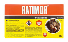 Ratimor Bromadiolone pasta 80g poison for mice and rats Rattengift mort aux rats