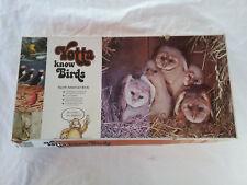 Vintage Yotta Know Birds North American Birds Bird Watchers RARE Board Game