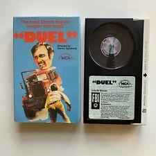 DUEL Steven Spielberg Action/Drama Beta Video Tape NOT VHS BETAMAX