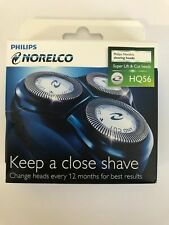 Philips Norelco Shaving Heads HQ 56 - 3 Cutters & 3 Combs Free Shipping