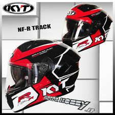 CASCO CASQUE HELMET INTEGRALE STRADALE KYT NF-R NFR TRACK RED TAGLIA M (57-58)