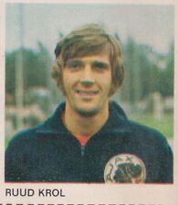 1-0 Foto Galerij 1970-1971 card/sticker Ajax Amsterdam - Ruud Krol