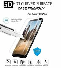 5D Tempered Glass Screen Protector For Samsung Galaxy S8 Plus Clear CaseFriendly