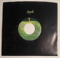 Paul & Linda McCartney / Uncle Albert / Pual ERROR / 1971 Apple 45 / St. VG+++