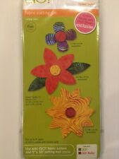 Accuquilt GO! Fabric Cutting Die Flower Bunch Quilting Sewing 55332 NEW