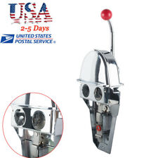 USA Boat Single Control Lever Marine Engine Outboard Control Handle Top Mount A+