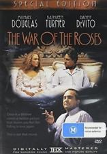 War of The Roses (region 0 DVD Good) 9332412006358