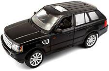 1/18 Burago / Bburago Collezione Range Rover Sport Nero 12069
