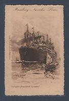 "Hamburg - Amerika Liner ""President Lincoln"" 1903"