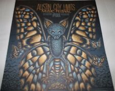 Austin City Limits ACL Fest 2017 Poster Print Batterfly 18 x 24 New Todd Slater