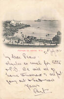 Rare Vintage Lovely Postcard Portrush, Co. Antrim Northern Ireland (July1902).