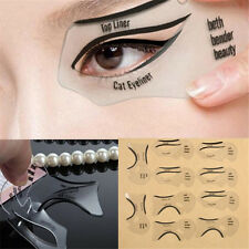 10Pcs EYELINER Stencil Beauty Template Shaper Makeup Tool Eyeshadow smokey beth