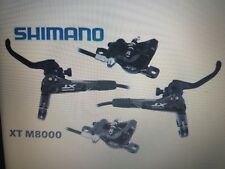 coppia kit freni shimano xt br m8000 set