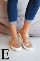 New Ladies Shoes Soft Summer Sparkle Ballerina Boat Deck Comfort Driving Shoes