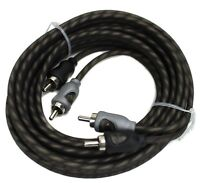 Rockford Fosgate RFI-20 20' Feet Twisted 2 Ch RCA Car Audio Signal Cables RFI20