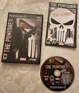 The Punisher PS2 (SonyPlaystation 2, 2005) PS2 - Complete CIB Tested