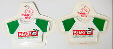 VINTAGE NEW LOT OF 2 APPLAUSE Teddy Tees PLUSH T-Shirts Beary Christmas 1986