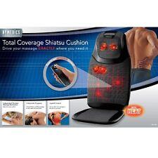 HoMedics MCS-700H Total Coverage Shiatsu Massage Cushion NEW must have !!